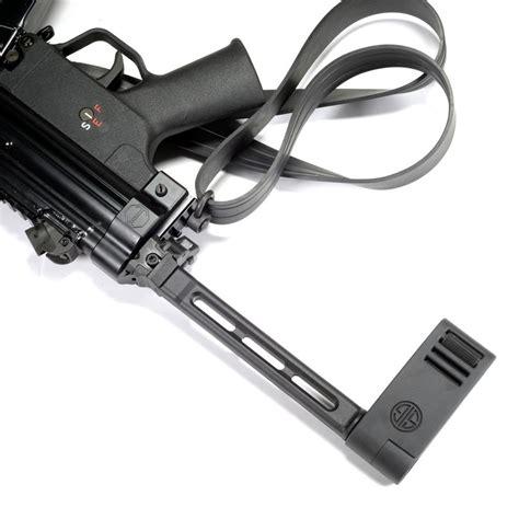 Sig Sauer Mpx Gen 2 Pistol With A Folding Brace