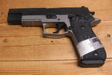 Sig-Sauer Sig Sauer P220 Stainless Match Elite Night Sights.