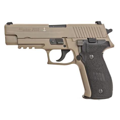 Sig-Sauer Sig Sauer P226 9mm Pistol Fde With Anchor Engrave Mk25d.