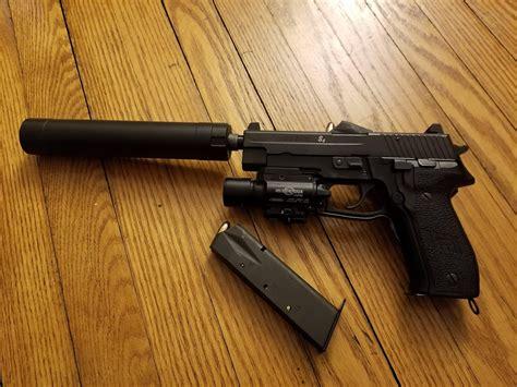 Sig Sauer P226 9mm Suppressor