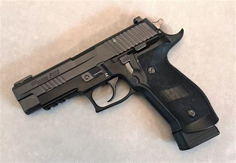 Sig-Sauer Sig Sauer P226 9mm Tacops Pistol Review.
