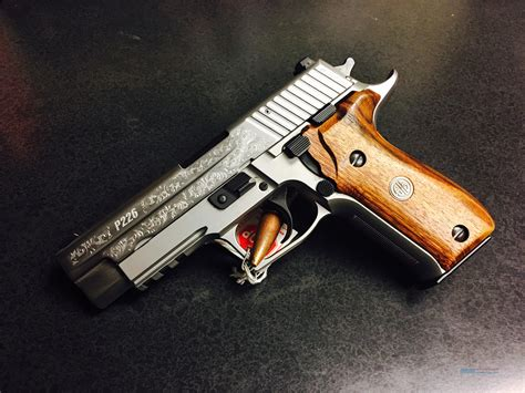 Sig Sauer P226 Engraved Stainless