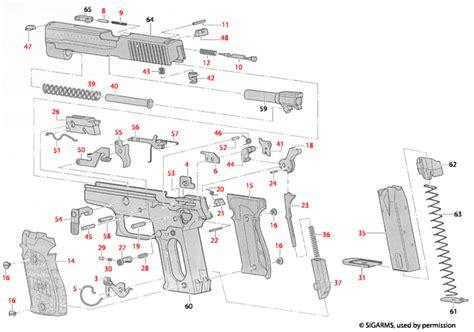 Sig Sauer P226 Explosionszeichnung - Brownells Deutschland
