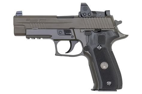 Sig Sauer P226 Legion With Red Dot