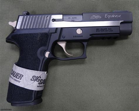 Sig-Sauer Sig Sauer P227 Equinox 45.