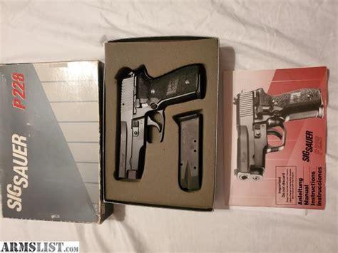 Sig-Sauer Sig Sauer P228 Grey Cardboard Box.