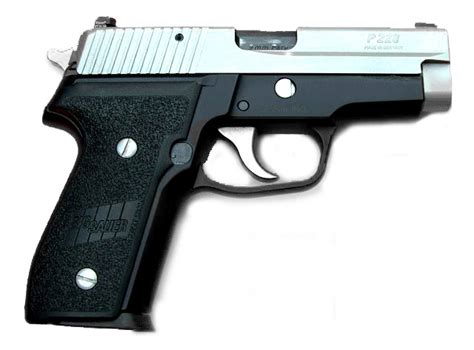 Sig-Sauer Sig Sauer P228 Two Tone Threaded.