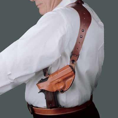 Sig-Sauer Sig Sauer P229 Desantis Leather Shoulder Holster.