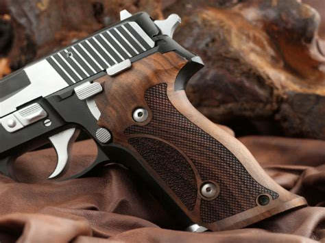 Sig-Sauer Sig Sauer P229 Wood Grips.