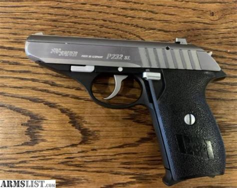 Sig-Sauer Sig Sauer P232 Two Tone For Sale.