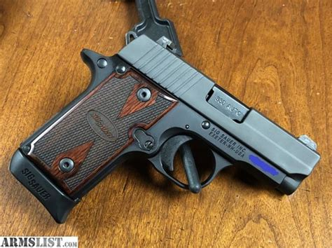 Sig Sauer P238 Rosewood Grips For Sale
