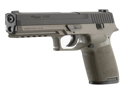 Sig Sauer P250 Air Pistol Disassembly