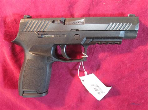 Sig Sauer P320 9mm Compact Frame With Full Length Slide