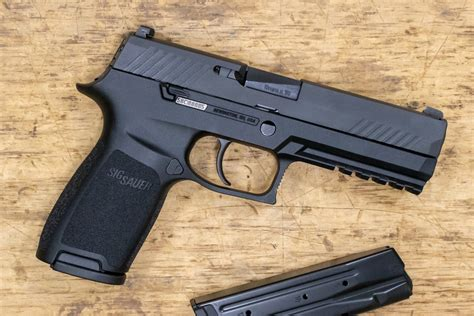 Sig Sauer P320 Pistol Full Size 9mm Police Trade-ins