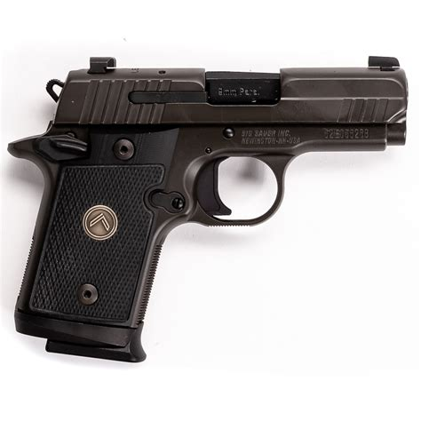 Sig-Sauer Sig Sauer P938 With A Yellow Trigger
