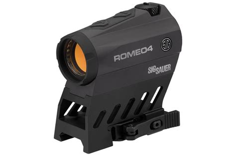 Sig Sauer Romeo 4b Review And 22lr Sig Sauer Mosquito With Suppressor