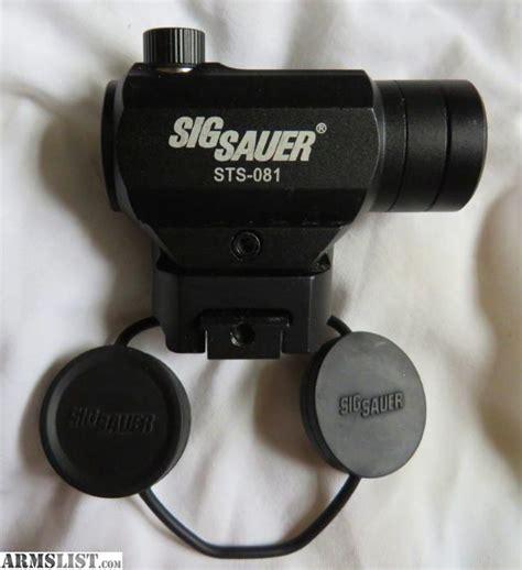 Sig-Sauer Sig Sauer Sts-081 Dot Sight.