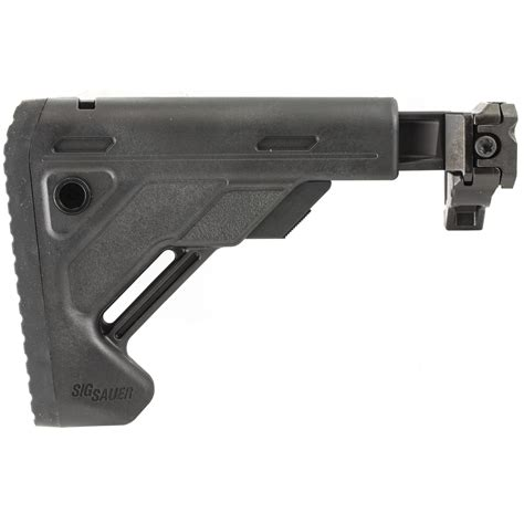 Sig Sauer Telescoping Folding Stock Mcx Mpx Blk And Ak47 Stock For Stamped Receiver Folding Blk