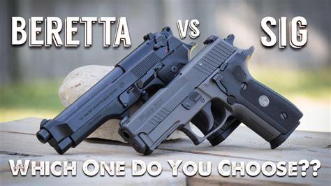 Sig Sauer Vs Beretta Vs Glock