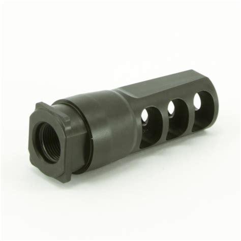 Silencerco Saker Trifecta Muzzle Brake - AR-15 Muzzle
