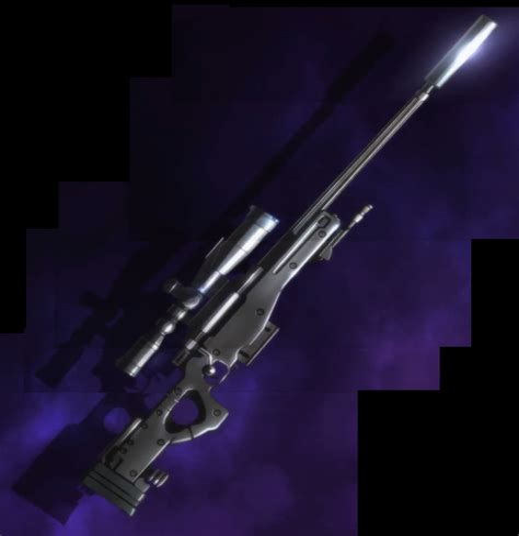 Silent Assassin Sniper Rifle Sao