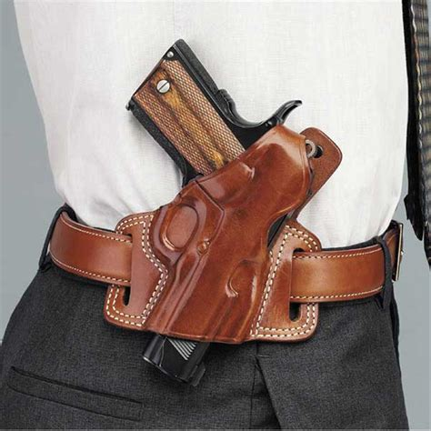 SILHOUETTE HIGH RIDE HOLSTER Belt Holsters Galco Gunleather