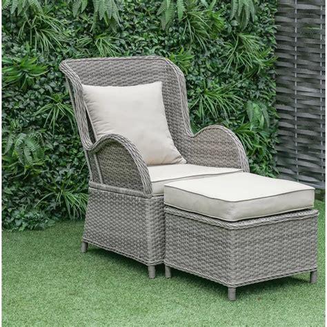 Silke Patio Chair with Cushion