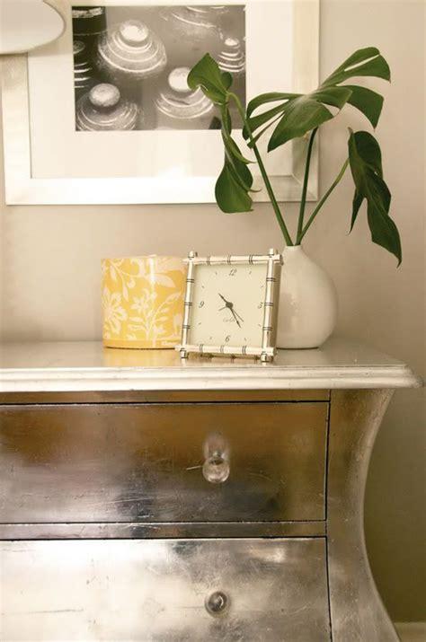 Silver leaf dresser diy Image