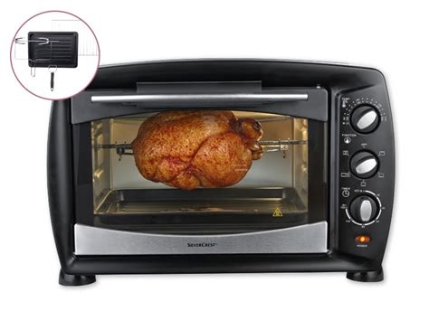 silvercrest electric oven pdf manual