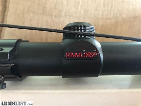 Simmons 21017 Rifle Scope Review