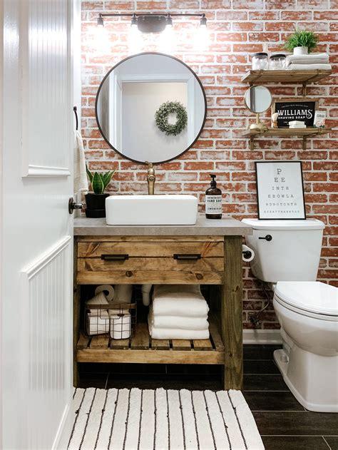 Simple bath vanity plans Image