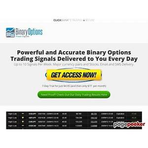 Simple binary options signals delivered ? binary options power signals work or scam?