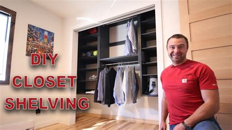 Simple closet shelves you can build in a weekend to get organized modular shelves Image