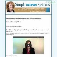 Simple development systems: successful nonprofit fundraising guide