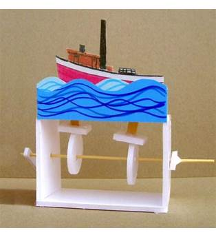 Simple Engineer Plan For A Boat