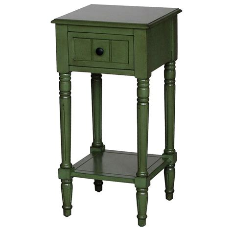 Simple Green Side Table Image
