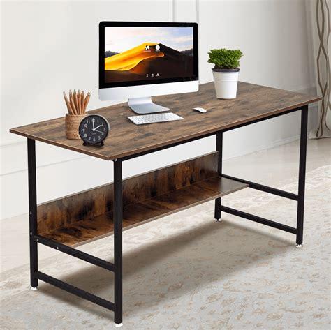 Simple wood desk Image