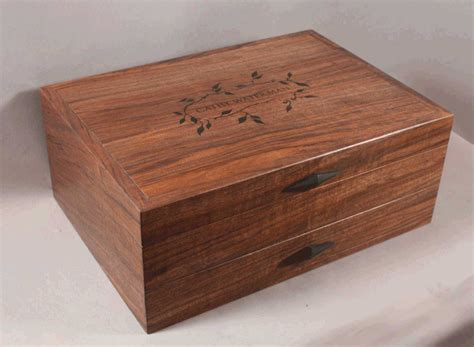 Simple wooden box designs Image