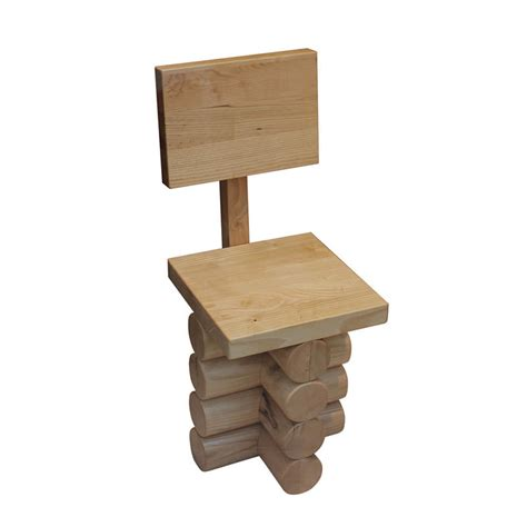 Simple wooden chair designs Image