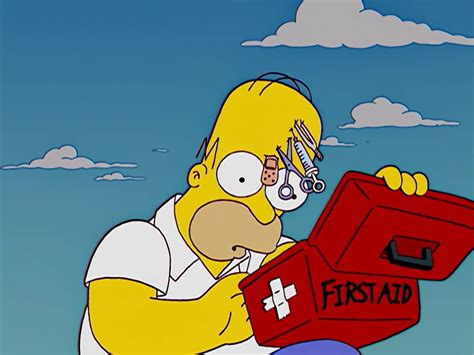 Simpsons Spring Loaded First Aid Kit