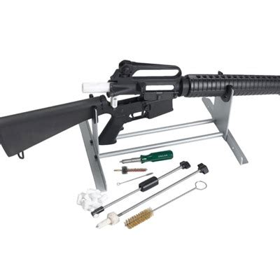 Sinclair International Sinclair Deluxe Ar15 Cleaning Kit And Ar15 Picatinny 18 Slot Slimline Rail Cover Polymer Ergo