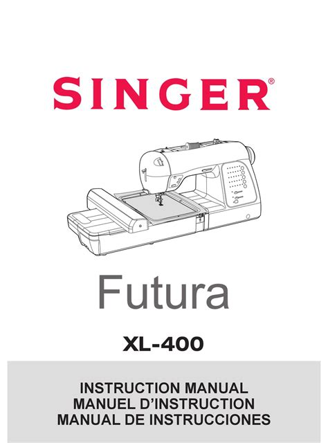 singer xl 400 manual pdf manual