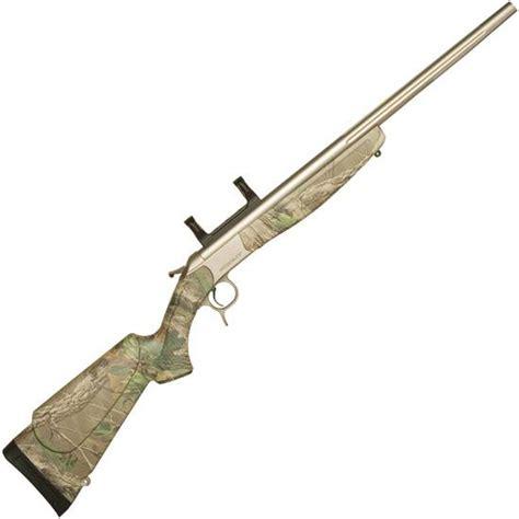 Single Shot 35 Remington Rifle