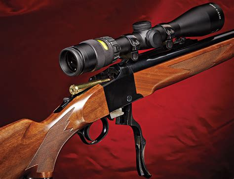 Single Shot Hunting Rifle