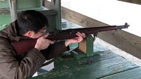 Sithiting An M1 Garand