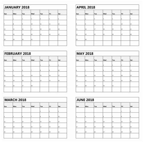 Six Month Calendar Template CV Templates Download Free CV Templates [optimizareseo.online]
