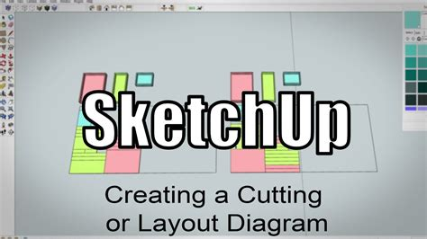 Sketchup making a cutting layout for plywood parts 216 Image