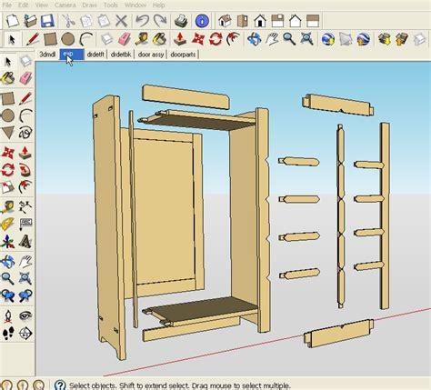 Sketchup woodworking tutorial Image
