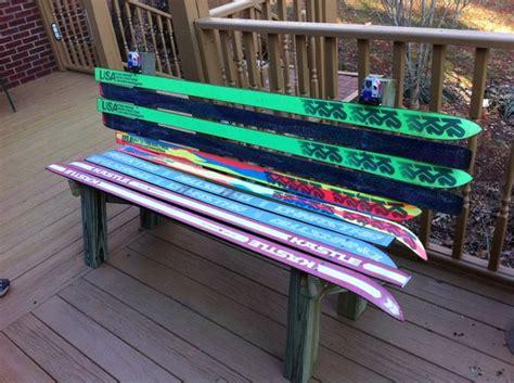 Ski bench plans Image
