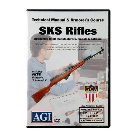 Sks 94 Rifles Technical Manual And Armorer 039 S Course